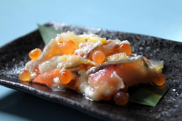 食通に喜ばれる越後村上の伝統料理 鮭の飯寿司